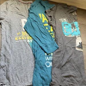Bundle of three American Eagle T-shirts